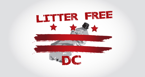 Litter Free DC Banner