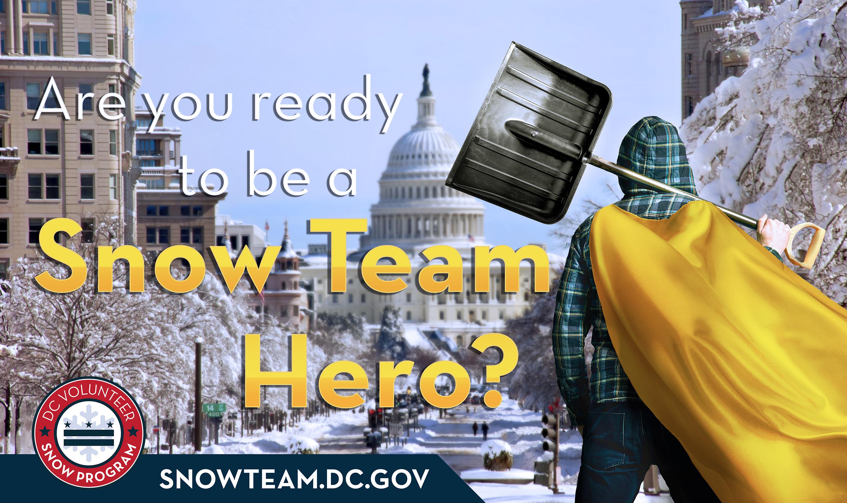 DC Volunteer Snow Program