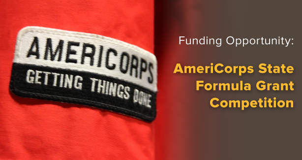 AmeriCorps Funding Opportunity