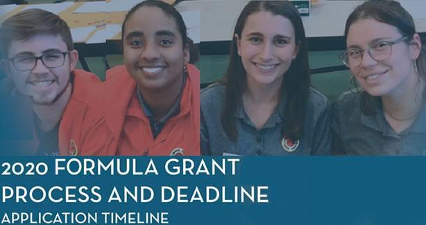 2020 Formula Grant Corps