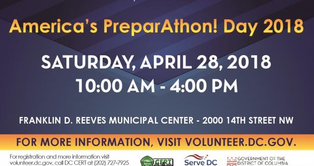 America's PrepareAthon! Day--Volunteer Reception Center Training and Functional Exercise