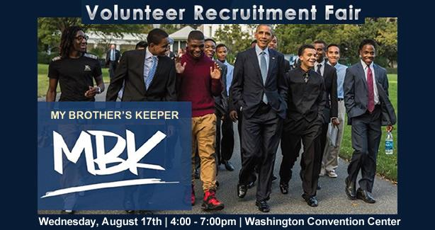 My Brothers Keeper Volunteer Recruitment Fair