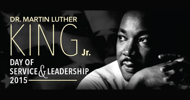 Martin Luther King Jr. Day of Service & Leadership 2015