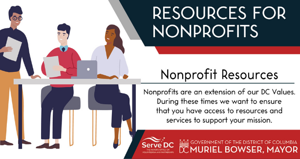 Nonprofit Services and Resources Graphic