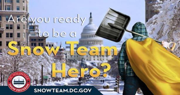 DC Snow Hero: Are you a snow hero? Join the Snow Program