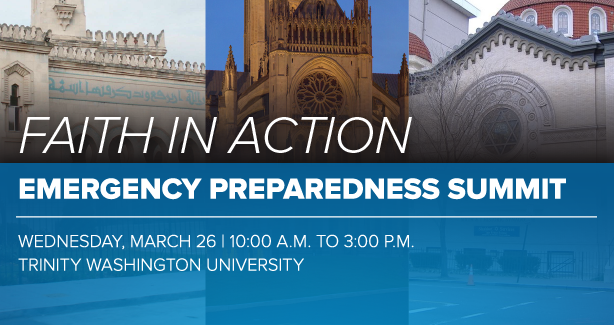 Faith in Action Emergency Preparedness Summit