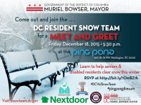 Snow Team Meet & Greet