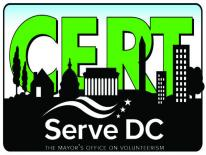 District of Columbia Community Emergency Response Team (DC CERT) Logo