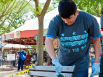 Global Youth Service Day Volunteers